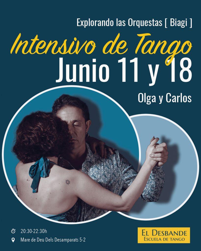 intensivo de tango desbande