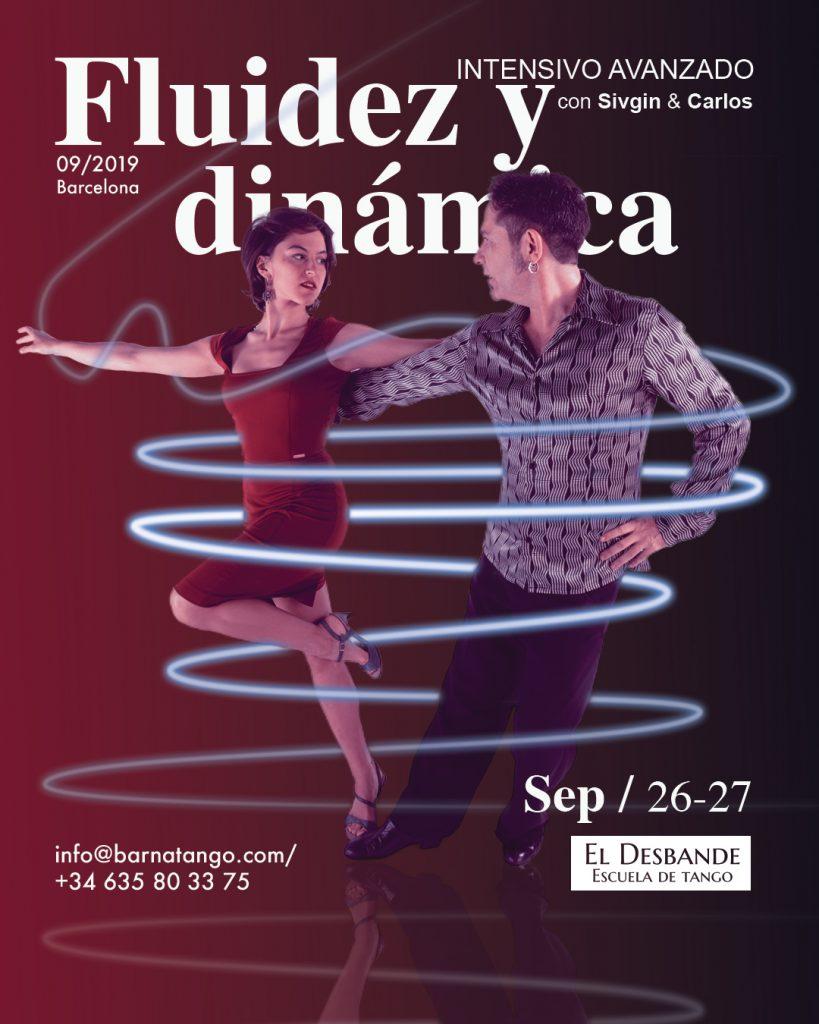 Intensivo de tango Fluidez y dinámica